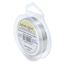 30 Gauge Artistic Wire Stainless steel
