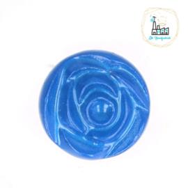 Roosknoopje 10 MM Blauw