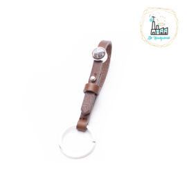 The Dutch Bracelet Factory Sleutelhanger 7850 Brown