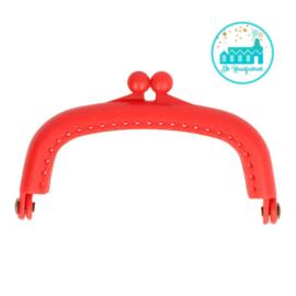 Portemonnee Sluiting Rood 8,5 cm