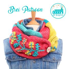 Brei Patroon Colsjaal Multicolor