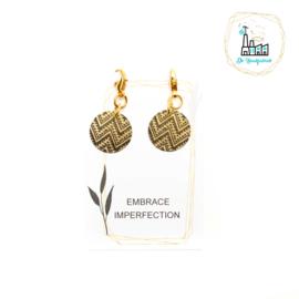 Set Steekmarkeerders Aztec Black Gold