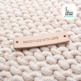 LEREN LABEL HANDMADE WITH LOVE (SMALLE LETTER)