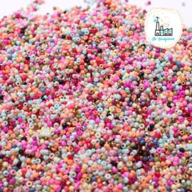 Rocailles 2MM 200 gram Mix