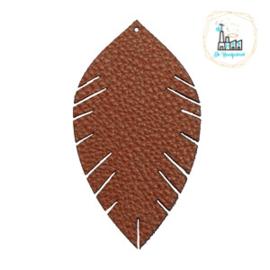 Imi leer hangers leaf Bruin Medium