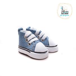 Sneakers voor Amigurumi Poppetjes Jeans