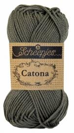 Scheepjes Catona Dark Olive 387