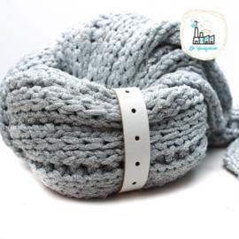 Sjaal Riempje Wit 23 cm