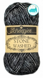 Scheepjes Stone Washed - 803 -Black Onyx