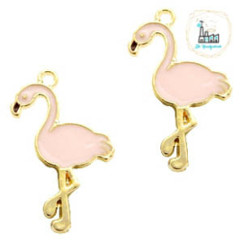 Bedel Flamingo 28 mm x 19 mm Pink
