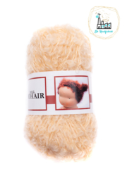 Puppengarn-poppengaren-mohair-boucle Goud Blond