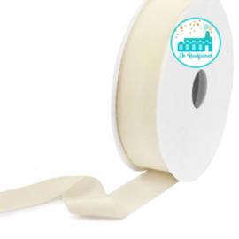 Ibiza Elastiek voor armbandjes Beige 25 mm