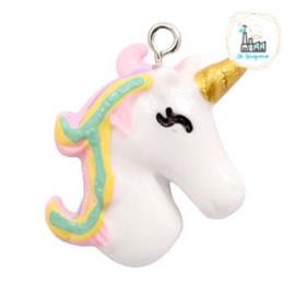 Unicorn Bedel White-rainbow 28x23mm
