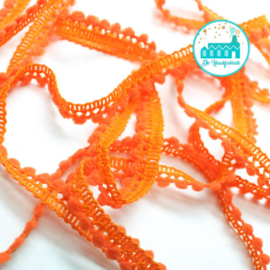 Mini Pompon Strip Orange 1 meter