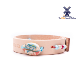 Leren Armband You are my Star in The Sky 005