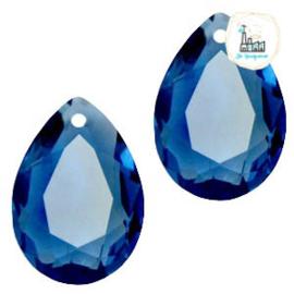 Glashanger 10x14mm Montana blue