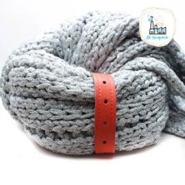 Sjaal Riempje Oranje 23 cm