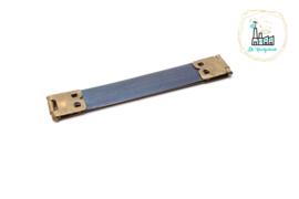 Klik Veersluiting 12 cm goud