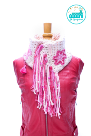 Cowl Scarf Pink