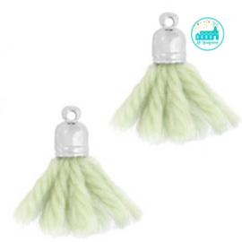 Kwastjes Zee Groen 2 cm
