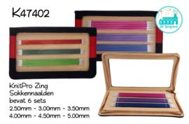 KnitPro Zing Knitting Needles for socks 20 cm