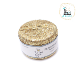 LAMMY YARNS BEJEWELED LUREX GOUD MET PAILLETTEN
