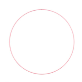 Metalen Ring 25 cm dikke kwaliteit Roze