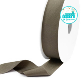 Ibiza Elastiek voor armbandjes Dark Taupe Metallic 25 mm