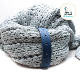 Sjaal Riempje Donker Blauw 23 cm