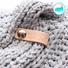Little Label met diverse sluitingen HANDKNITTED WITH LOVE