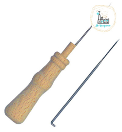 Handle with 1 felting needle + 1 needle