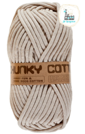 LAMMY YARNS CHUNKY COTTON 791 BEIGE