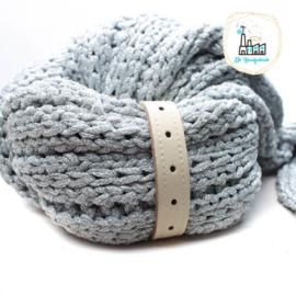 Sjaal Riempje Roomwit 23 cm