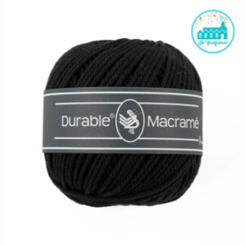 Durable Macramé 325 Black
