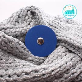 Sjaalsluiting Kobalt Blauw