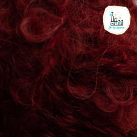 Puppengarn-poppengaren-mohair-boucle Rood Bruin