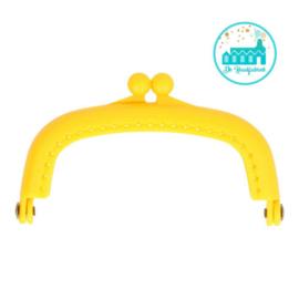 Portemonnee Sluiting Geel 8,5 cm