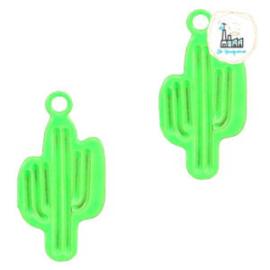 Bedel Cactus neon groen 12 mm x 6 mm