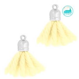Kwastjes Licht Geel 2 cm