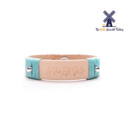 Leren Armband La Vie Est Belle 002
