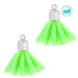 Kwastjes Fluor Groen 2 cm