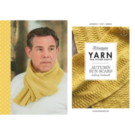 YARN The After Party 87 - Autumn Sun Scarf By Jellina Verhoeff