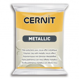 CERNIT METALLIC, 56GR - JAUNE 700
