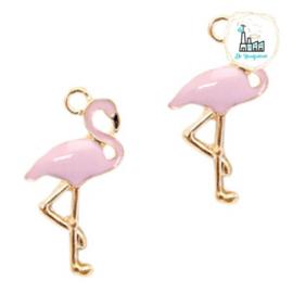 Bedels Flamingo 25.6 mm x 14.4mm Pink Gold