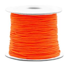 Gekleurd Elastiek Neon Oranje