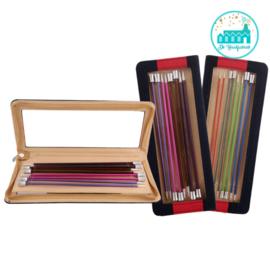 KnitPro Zing Breinaalden set 40 cm met knop