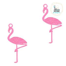 Bedel bohemian flamingo pink 22 mm x 11 mm