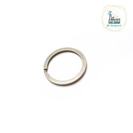 Sleutelhanger ring 30 mm Brons Kleurig