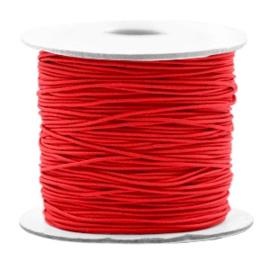 Gekleurd Elastiek Rood