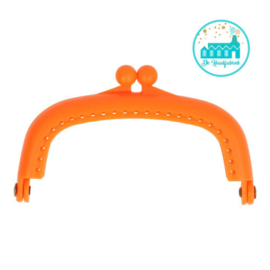Wallet Closure Orange 8,5 cm
